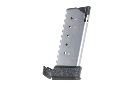 Grip for Springfield XD-S MOD 2 Mid-Mag Extension Rubber-Black