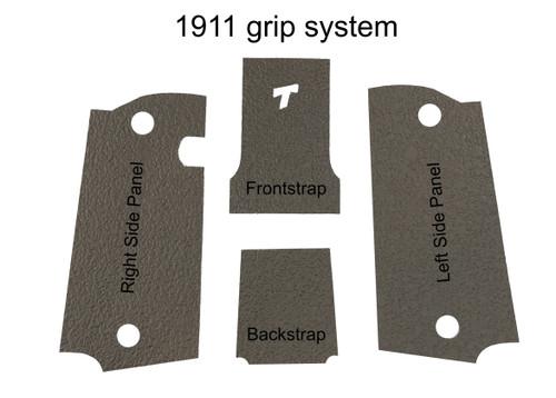 1911 Modular Grip System Full Kit