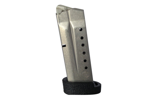 Grip for S&W M&P Shield Extended Magazine Rubber-Black