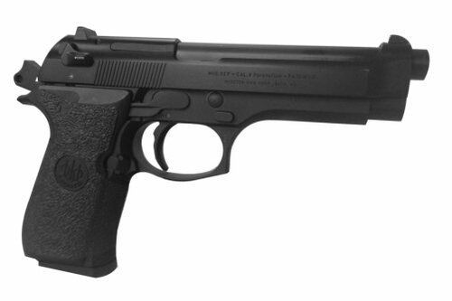 Beretta 92 Rubber-Black
