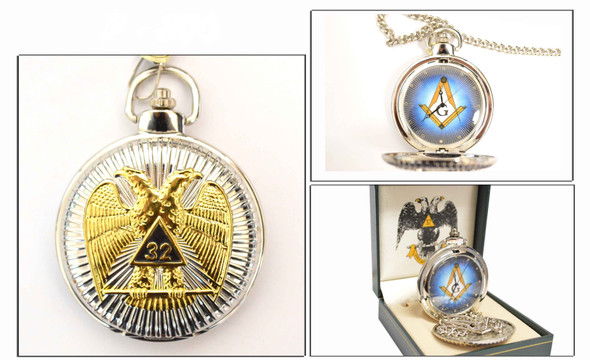 Scottish Rite Pocket Watch