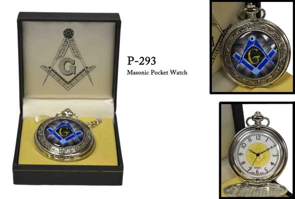 Blue S&C Masonic Pocket Watch