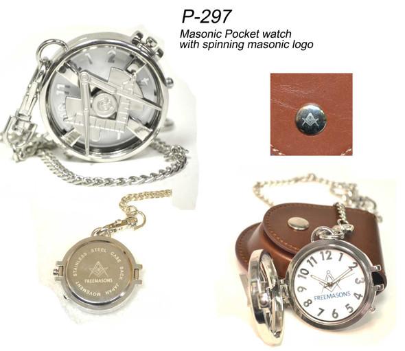 Spinning Craft Pocket Watch