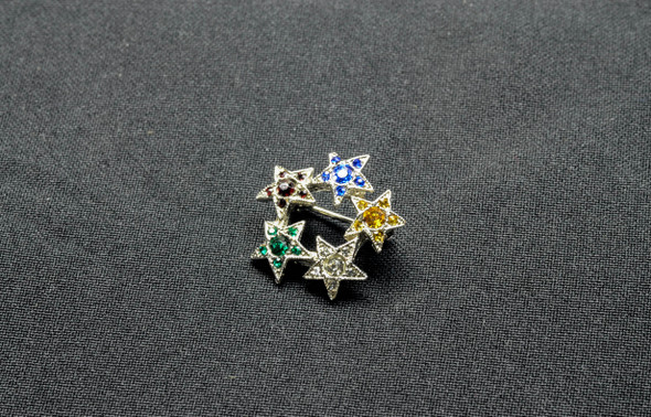 OES 5pt. Star Silver Only
