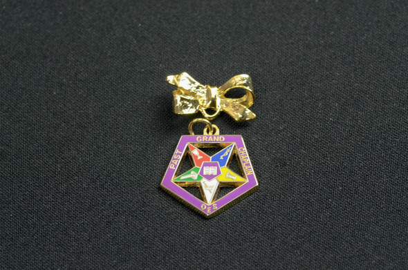 Past Appointed Grand Officer Charm Pin - Chaplain