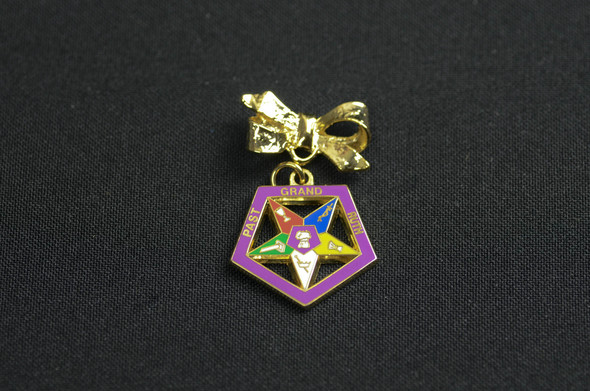 Past Appointed Grand Officer Charm Pin - Star Point Ruth