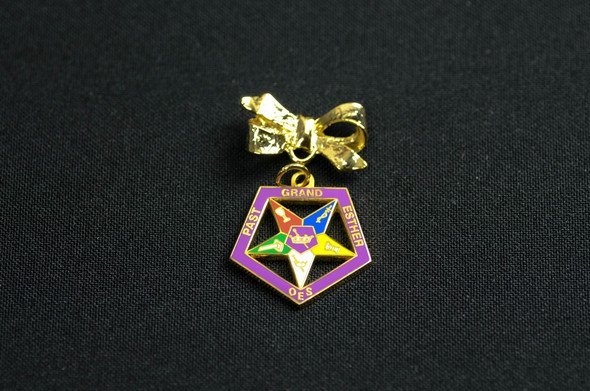Past Appointed Grand Officer Charm Pin - Star Point Esther