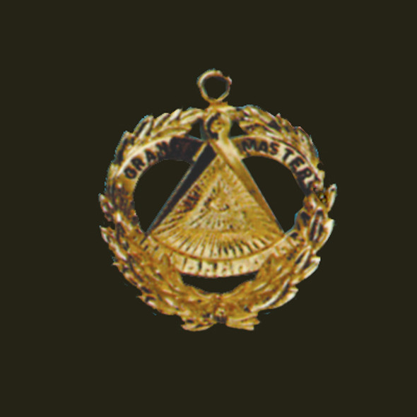 "Past Grand Master's Regalia Jewel -   Available in approximatel 3"" and 4"" sizes with finishes in either SilvX or Gold plated. These jewels are made to order and require approximately four weeks for shipment after order is placed."