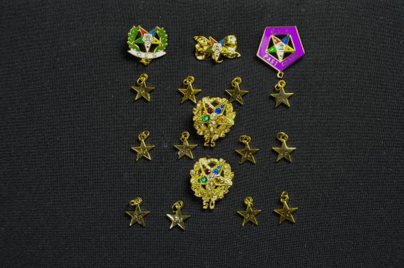 Anniversary Star Pins