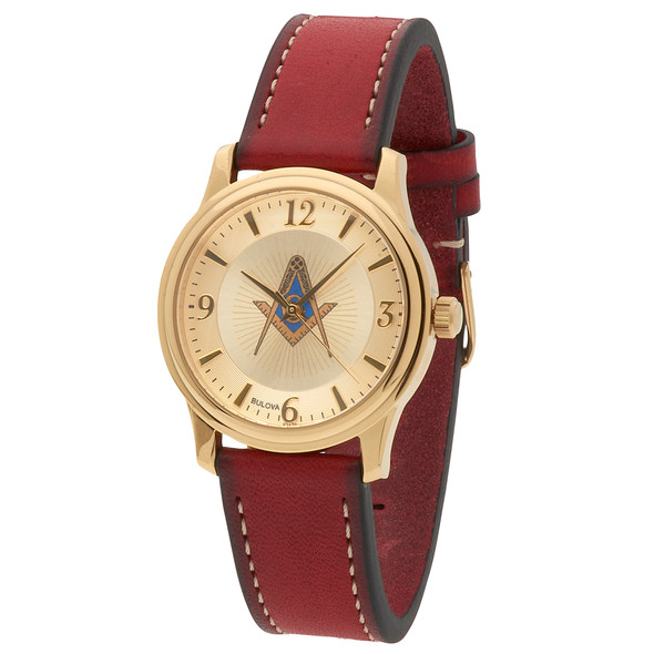 Blue Lodge Watch Collection  -msw102red