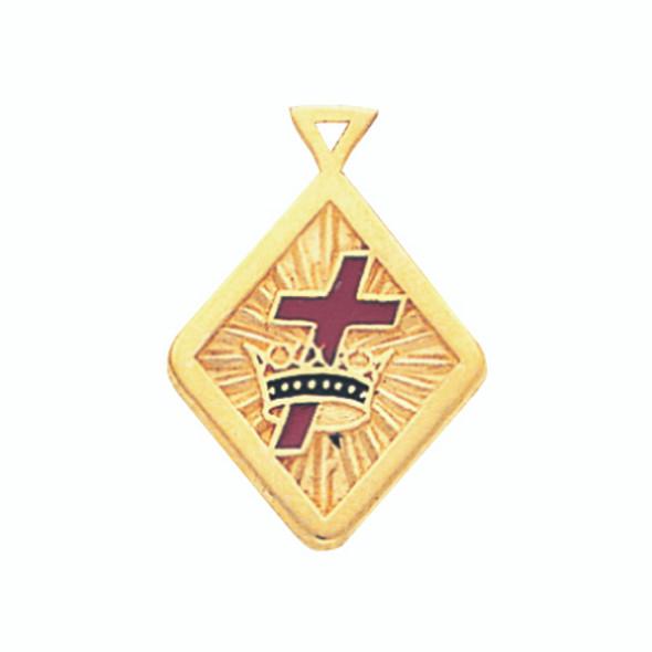 Knight Templar Pendant #  8423