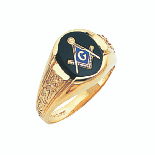3° Stone Gold Ring - GLCS1028BL