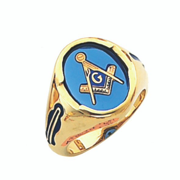 3° Stone Gold Ring - GLCS1117BL
