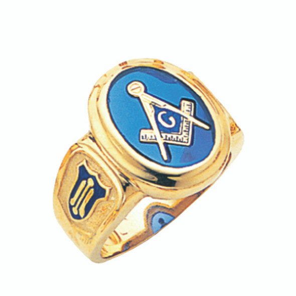 3° Stone Gold Ring - GLCS1141BL