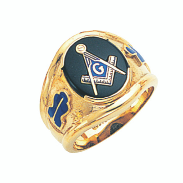 3° Stone Gold Ring - GLCS1145BL