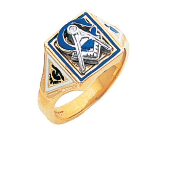 3° Gold Ring - MAS738BL