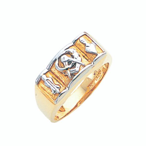 3° Gold Ring - GLC433BL