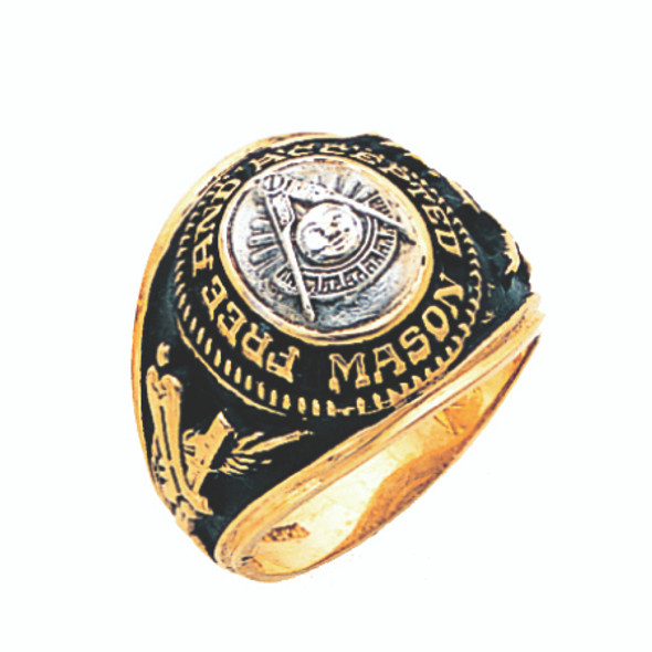Past Master Gold Ring - GLC1181PM