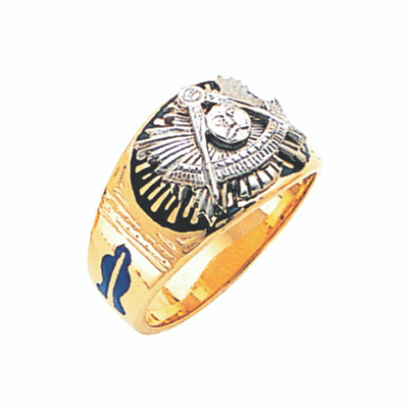 Past Master Gold Ring - GLC302PM
