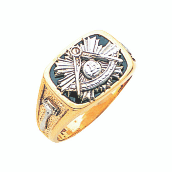 Past Master Gold Ring - GLC631PM