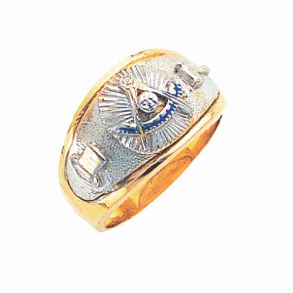 Past Master Gold Ring - GLC648PM