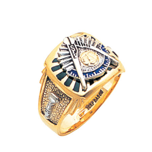Past Master Gold Ring - MAS1852PM