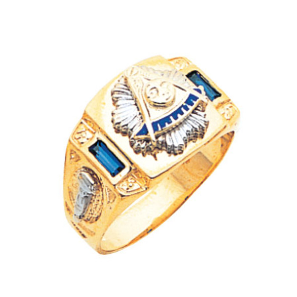 Past Master Gold Ring - MAS2005PM