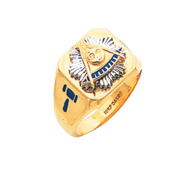 Past Master Gold Ring - MAS2044PM