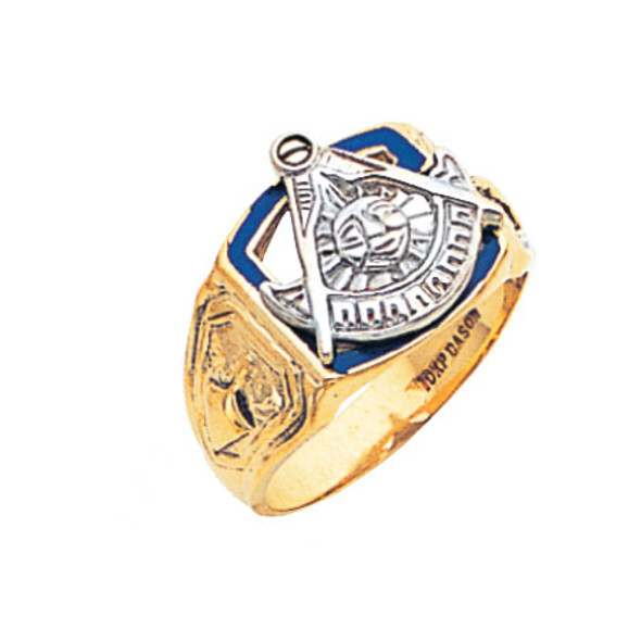 Past Master Gold Ring - MAS963PM