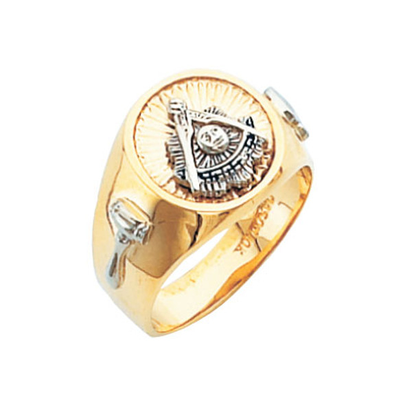 Past Master Gold Ring - HOM591PM