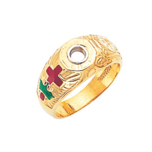Knights Templar Ring - MAS1305KT