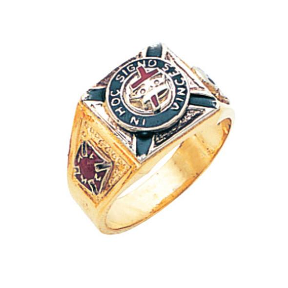 Knights Templar Ring - MAS686KT