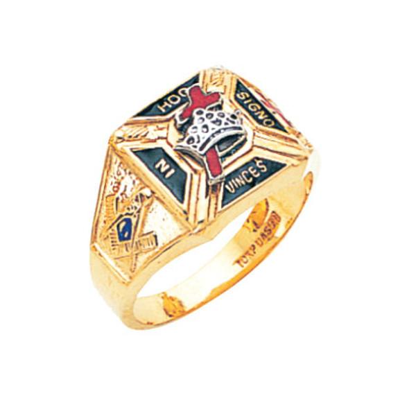 Knights Templar Ring - MAS859KT