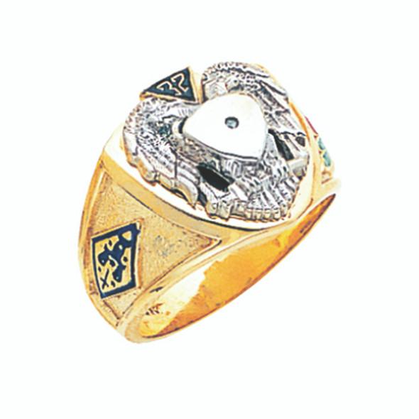 Scottish Rite Ring - GLC721SR