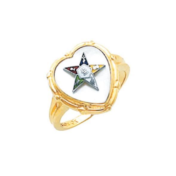 O.E.S. Gold Ring - HOM461ES