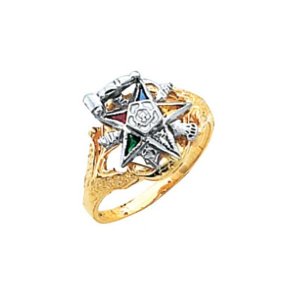 Past Matron Gold Ring - MAS1309PM