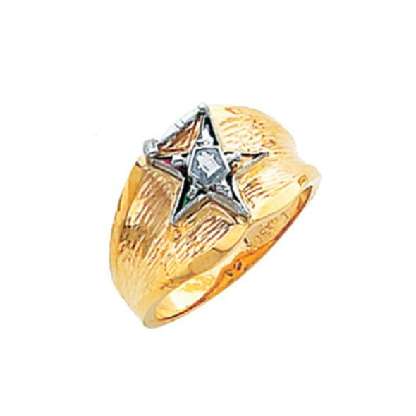 Past Matron Gold Ring - HOM525ESPM