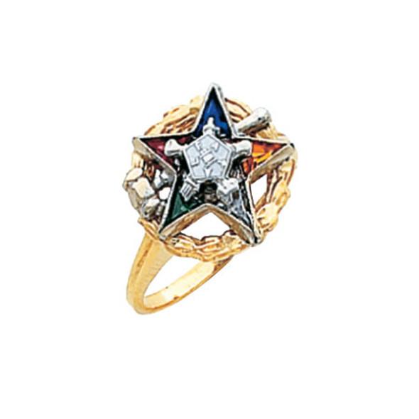 Past Matron Gold Ring - HOM549ESPM