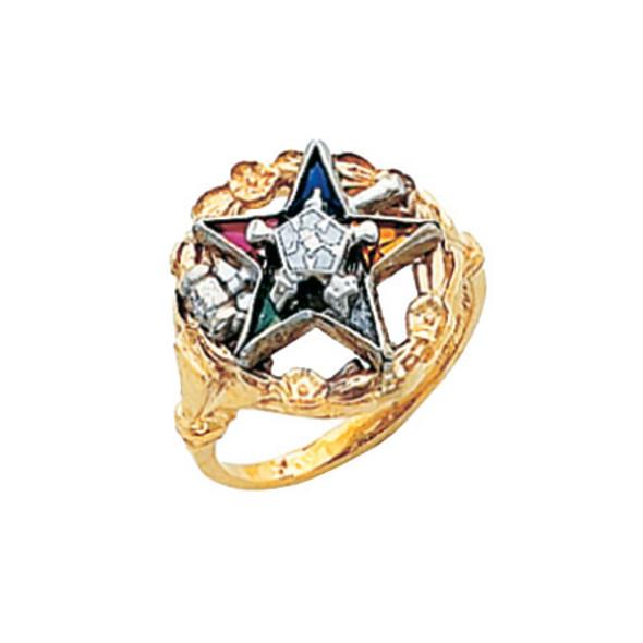 Past Matron Gold Ring - HOM626ESPM