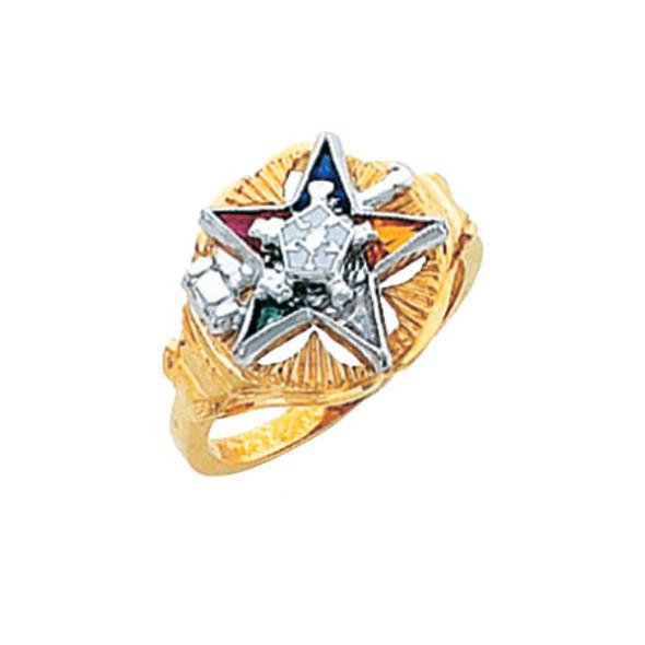 Past Matron Gold Ring - HOM300ESPM