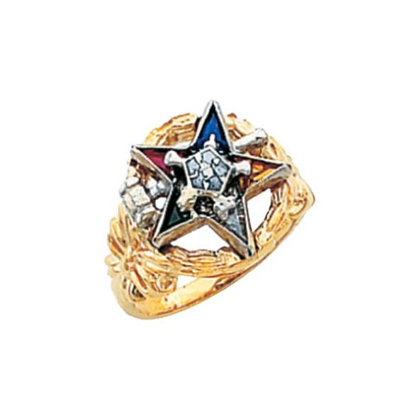 Past Matron Gold Ring - HOM308ESPM