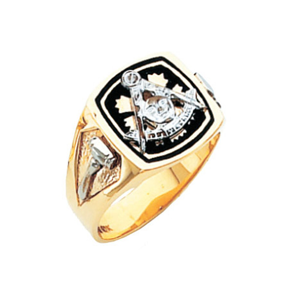 Past Master Gold Ring - HOM593PM