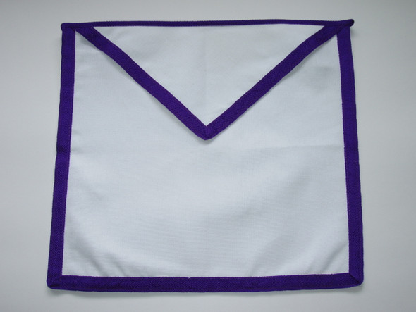 Member Cloth Apron Blue Trim