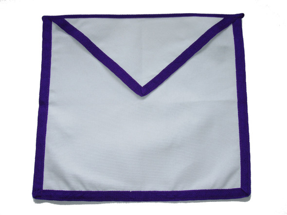 Member Cloth Apron Purple Trim
