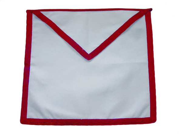 Member Cloth Apron Red Trim