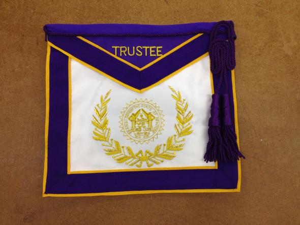 Grand Lodge Trustee Apron