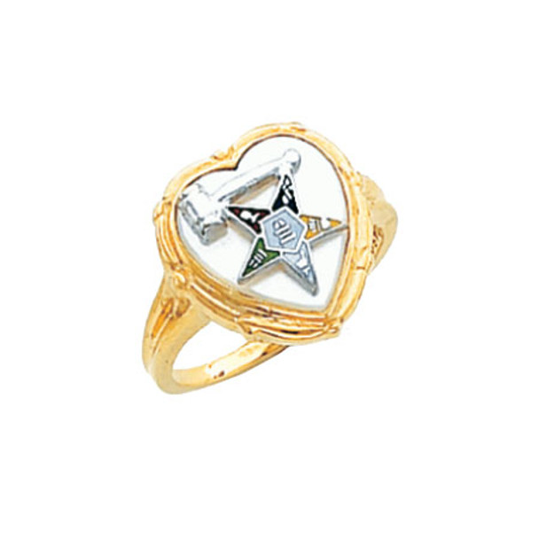 Past Matron Gold Ring - HOM461ESPM