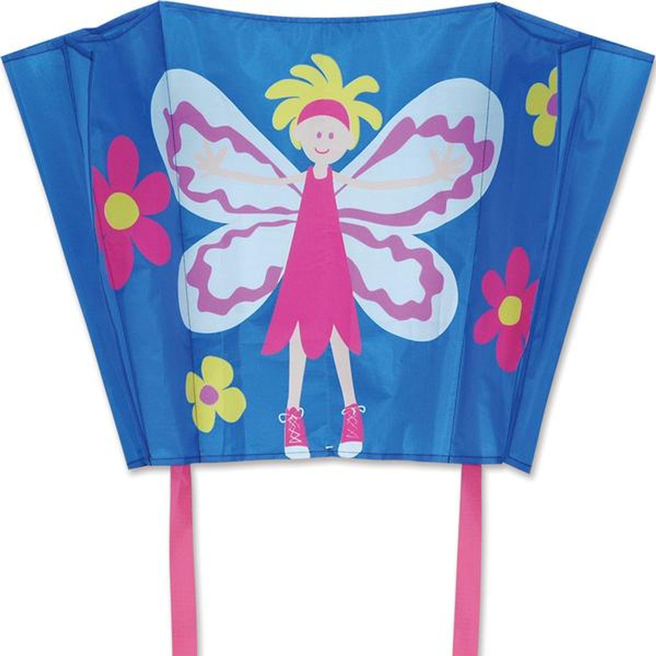 Fairy Big Back Pack Sled Kite