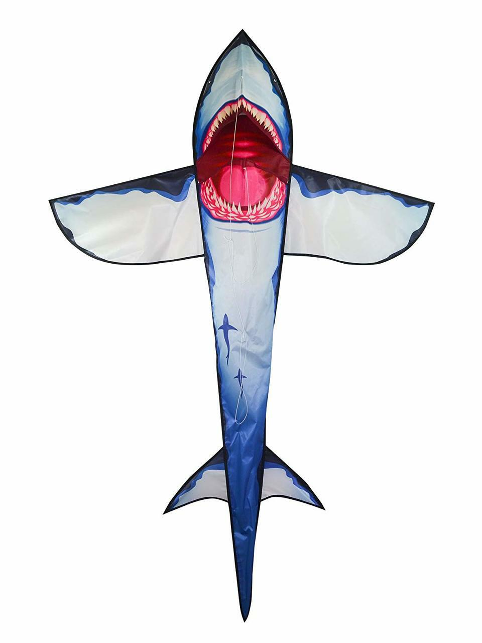 7.5' 3D Great White Shark Kite