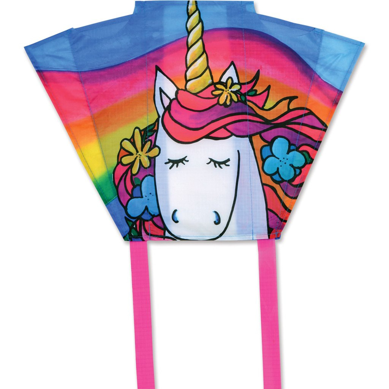 Unicorn Keychain Pocket Kite
